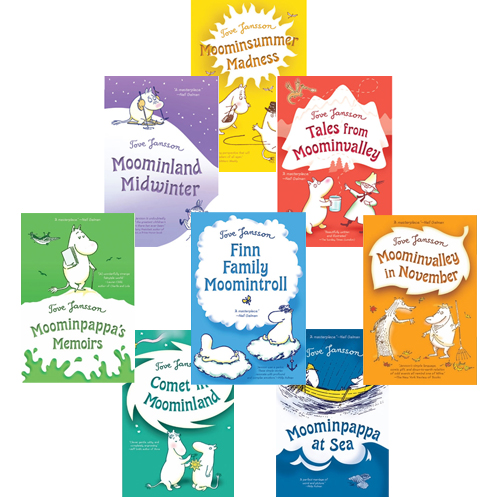 Moomin Books - Set of 8