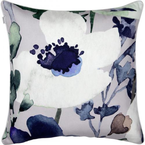 Pentik Anemone Grey / Blue Throw Pillow