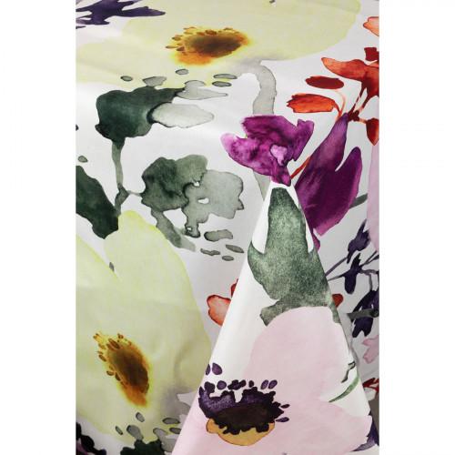 Pentik Anemone White / Multi Tablecloth
