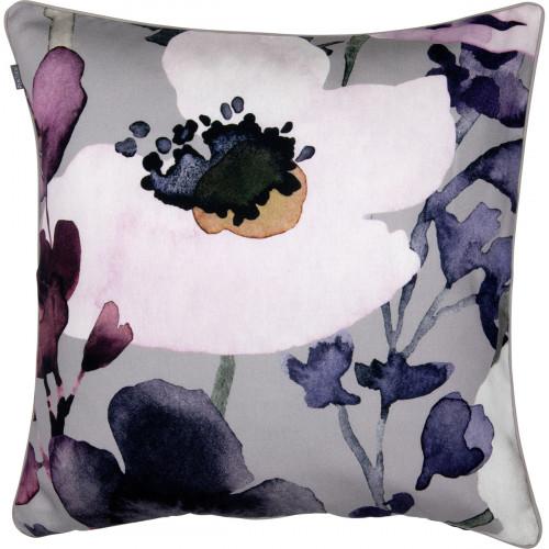 Pentik Anemone Grey / Pink Throw Pillow