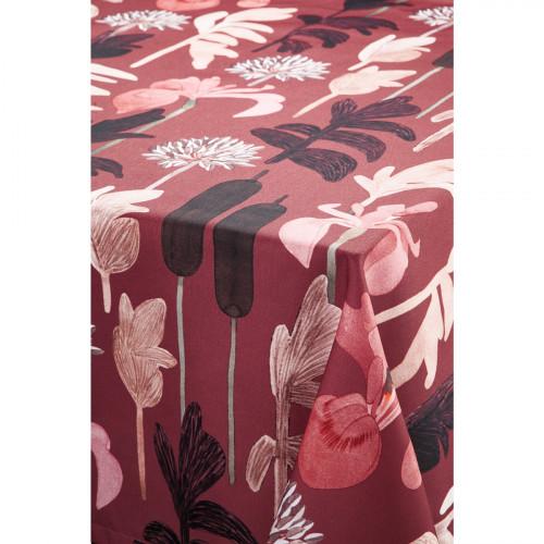 Pentik Kaislikko Burgundy Tablecloth