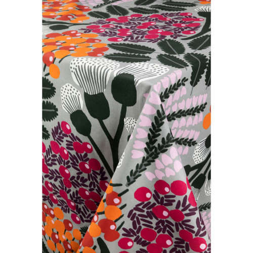 Pentik Kangasmetsä Grey / Multi Tablecloth