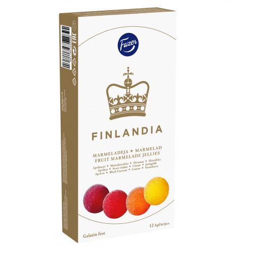 Fazer Finlandia Fruit Jellies Box - 9 oz