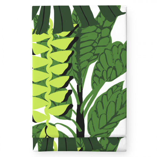 Finlayson Bunaken White / Green Tablecloth