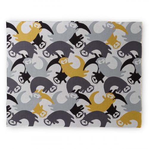 Finlayson Lutralutra Grey / Yellow Blanket