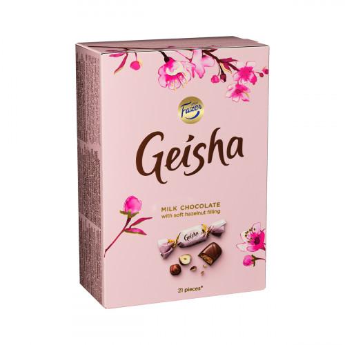 Fazer Geisha Hazelnut Chocolate Box - 5-1/4 oz
