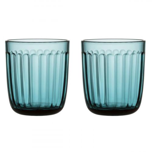 iittala Raami Sea Blue Tumblers (Set of 2)