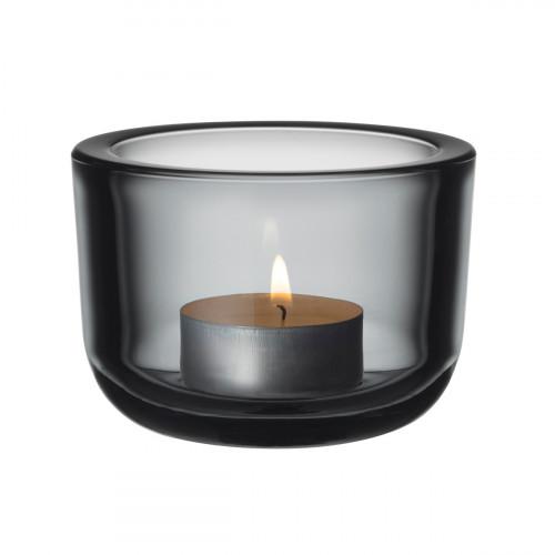 iittala Valkea Grey Tealight Candle Holder
