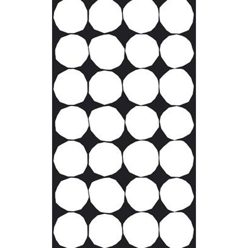 Marimekko Kivet Black / White Cotton Fabric