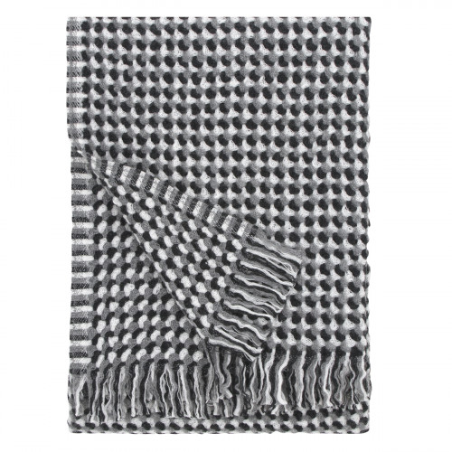 Lapuan Kankurit Alva Grey Wool Blanket