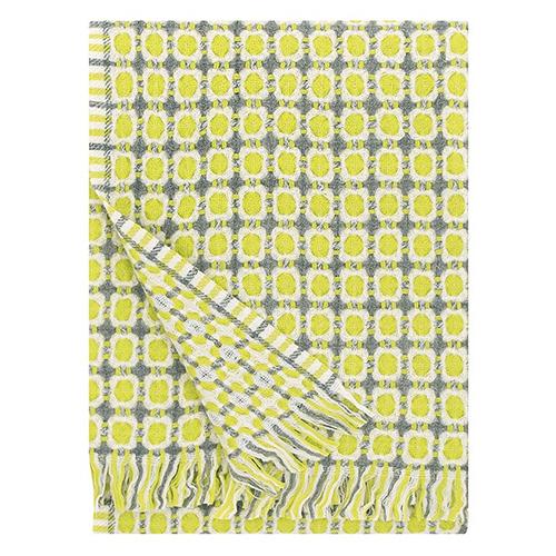 Lapuan Kankurit Corona Pistachio Wool Blanket