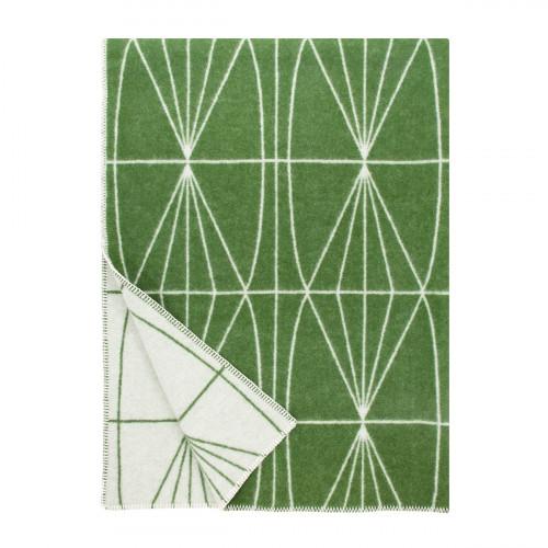 Lapuan Kankurit Kehrä Moss Green Wool Blanket