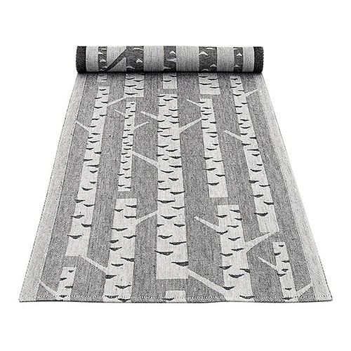 Lapuan Kankurit Koivu White/Black Table Runner