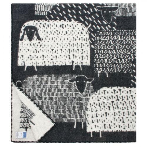 Lapuan Kankurit Pakapaat Black / Ivory Blanket