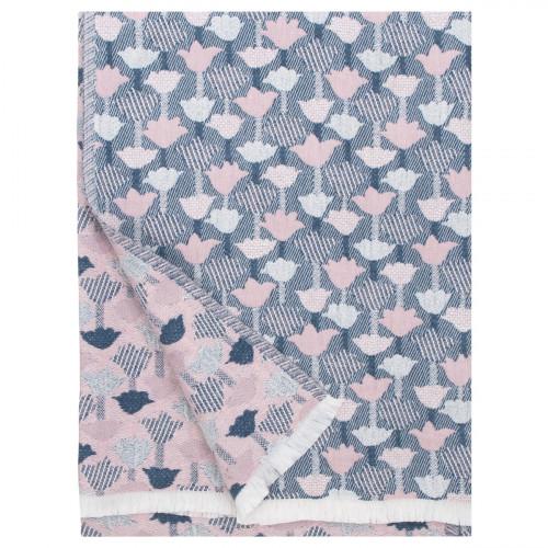 Lapuan Kankurit Tulppaani Blue / Rose Blanket