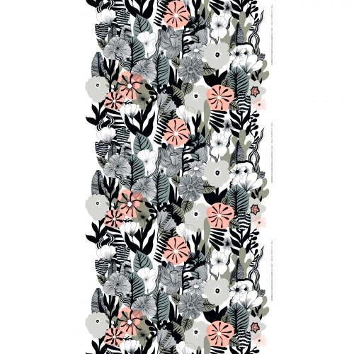 Marimekko Kasvu Grey Fabric
