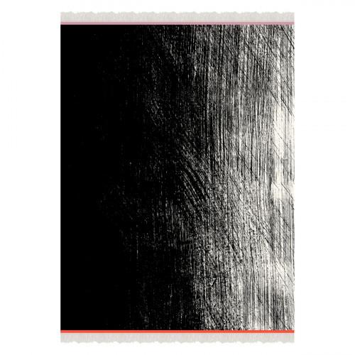 Marimekko Kuiskaus Black / White Blanket
