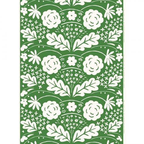 Marimekko Onni Green Fabric