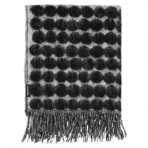 Marimekko Rasymatto White / Black Blanket