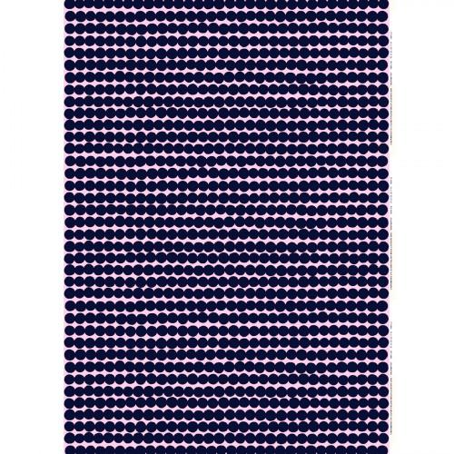 Marimekko Rasymatto Pink / Navy Fabric