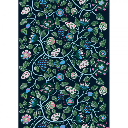 Marimekko Tiara Blue Fabric