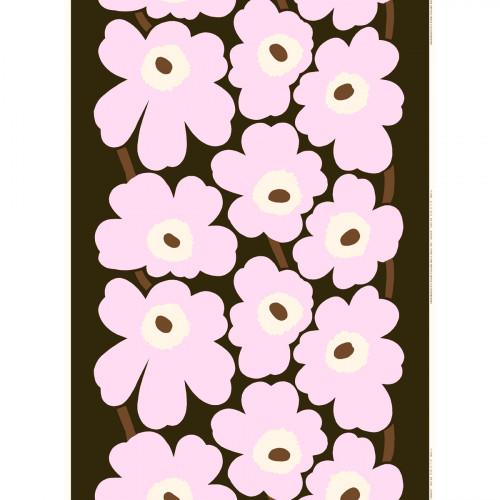 Marimekko Unikko Lilac / Brown Fabric