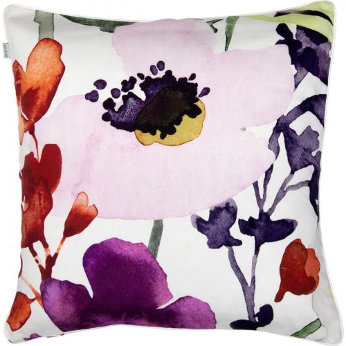 Pentik Anemone White / Multi Throw Pillow