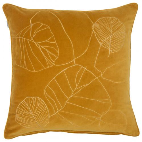 Pentik Haapa Yellow Velvet Throw Pillow