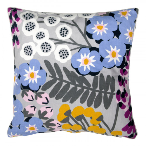Pentik Hiirenvirna Grey / Multi Throw Pillow