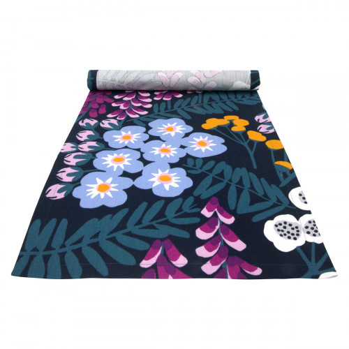 Pentik Hiirenvirna Navy / Multi Short Table Runner