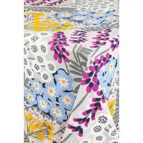 Pentik Hiirenvirna Grey / Multi Tablecloth
