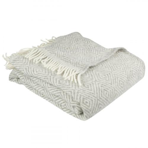 Pentik Laituri Grey Wool Blanket