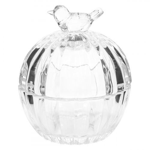 Pentik Lintu (Bird) Glass Box