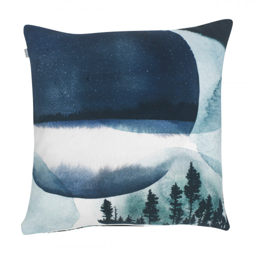 Pentik Maisema Blue Throw Pillow