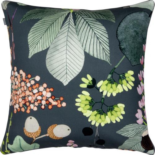 Pentik Puisto Grey / Multi Throw Pillow