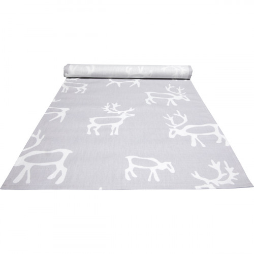 Pentik Saaga Grey Acrylic-coated Table Runner