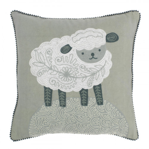 Pentik Satu Sheep Throw Pillow