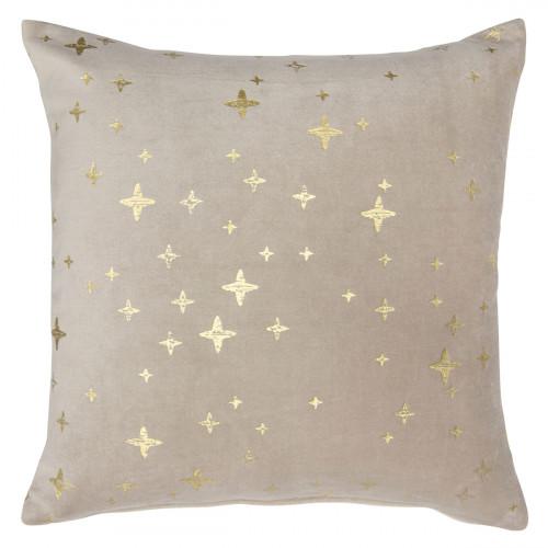 Pentik Tahtivyo Gold Velvet Throw Pillow