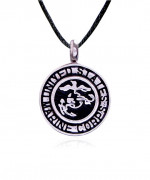 Marine Corps Stainless Steel Cremation Jewelry Pendant Necklace