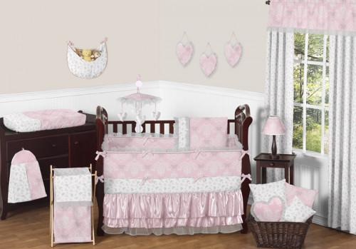 Alexa 9 Piece Crib Bedding Collection