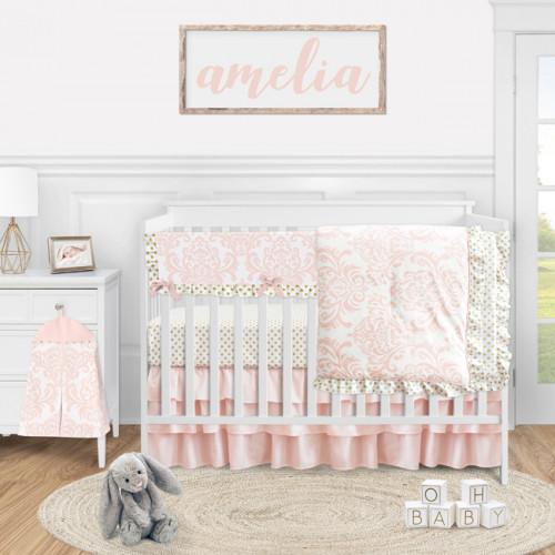 Amelia Collection 5 Piece Crib Bedding
