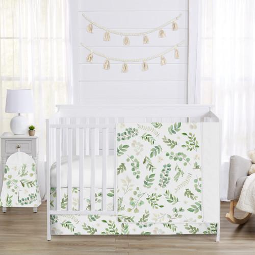 Botanical Collection 4 Piece Crib Bedding