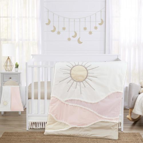 Desert Sun Collection 4 Piece Crib Bedding