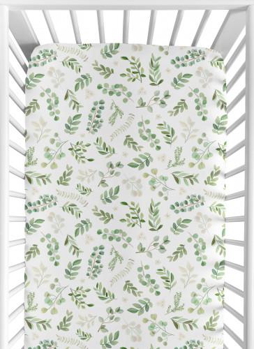 Botanical Collection Jersey Knit Crib Sheet