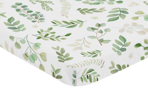 Botanical Collection Mini Crib Sheet