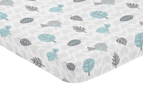 Earth and Sky Collection Mini Crib Sheet