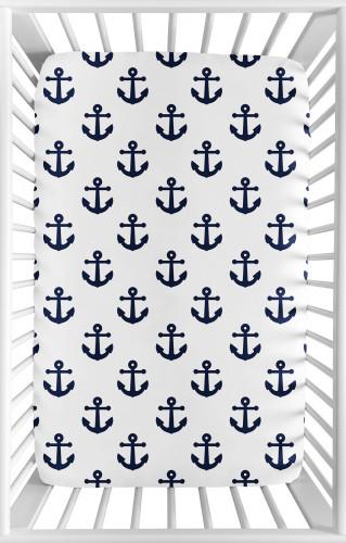 Sailor Collection Mini Crib Sheet