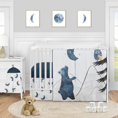 Moon Bear Collection 4 Piece Crib Bedding