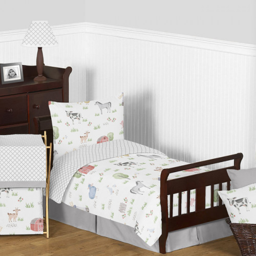 Farm Animals Collection Toddler Bedding