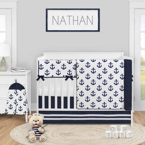 Sailor Collection 5 Piece Crib Bedding